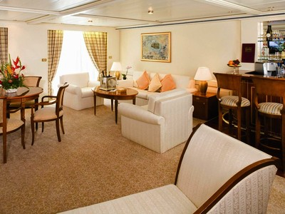 Grand Suite der Silver Shadow - Kabinenfoto Suite