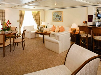 Grand Suite der Silver Whisper - Kabinenfoto Suite