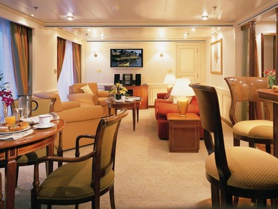 Silver Whisper - Owner Suite  - Kabinenfoto Suite