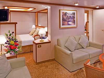 Familien-Suite der Star Princess - Kabinenfoto Suite