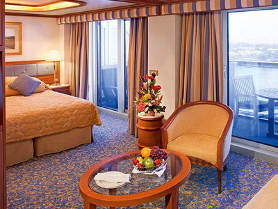 Vista-Suite der Star Princess