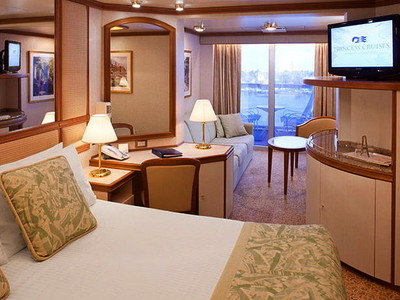 Mini-Suite der Sun Princess - Kabinenfoto Suite