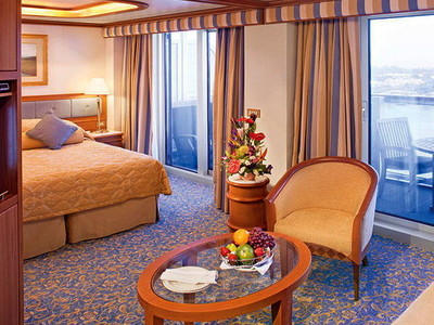 Suite der Sun Princess