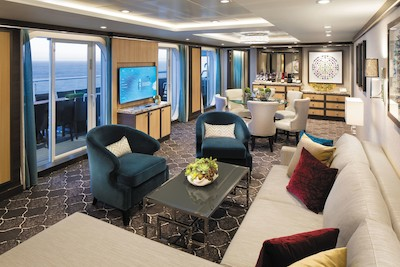 Villa Suite der Symphony of the Seas