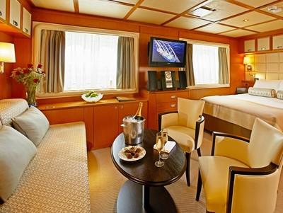 Owner Suite der Wind Star - Kabinenfoto Suite