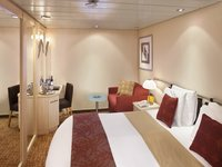 Celebrity Constellation - Innenkabine mit Doppelbett