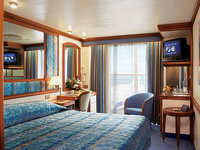 Diamond Princess - Diamond_balcony_cabin