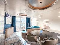 HANSEATIC spirit - Junior Suite - Designbeispiel
