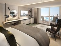 MS Fridtjof Nansen - Expeditions-Suite mit Balkon