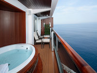 MS Koningsdam - Pinnacle Suite - Verandah