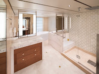 MS Koningsdam - Pinnacle Suite - Badezimmer