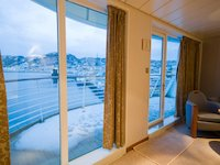 MS Midnatsol - Grand Suite - privater Balkon