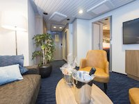 MS Nordnorge - Expedition Suite - Wohnbereich