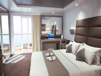 MSC Seaside - MSC Yacht Club Royal Suite