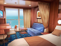 Norwegian Dawn - Mini Suite