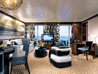 Norwegian Epic - The Haven Deluxe Owner Suite, Wohnzimmer