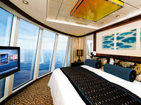 Norwegian Epic - The Haven Deluxe Owner Suite, Schlafzimmer