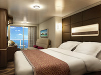 Norwegian Escape - Mini Suite mit Balkon