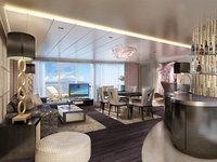 Norwegian Escape - The Haven Deluxe Owner´s Suite