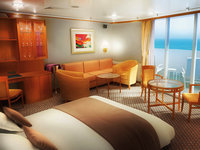 Norwegian Sun - Penthouse Suite
