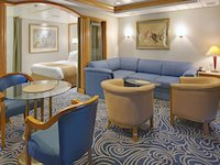 Rhapsody of the Seas - Owner Suite Wohnbereich