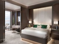Ritz-Carlton Yacht - The Grand Suite Schlafzimmer