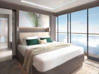 Ritz-Carlton Yacht - The View Suite Schlafzimmer