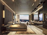 Scenic Eclipse - Owner's Penthouse Suite - Schlafbereich