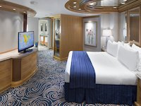 Vision of the Seas - Royal Suite Schlafbereich